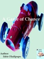 Cover for 'A Game of Chance'
