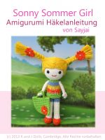 Cover for 'Sonny Sommer Girl Amigurumi Häkelanleitung'