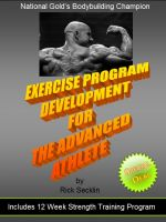 Cover for 'Exercise Program Development for the Advanced Athlete'