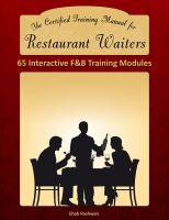 Cover for 'The Certified Training Manual for Restaurant Waiters'