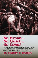 Cover for 'So Brave...So Quiet...So Long!'