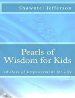 Cover for 'Pearls of Wisdom for Kids (Vol. 1)'