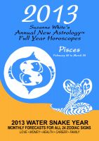 Cover for '2013 Pisces - Suzanne White's Annual Horoscopes for Pisces'