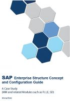 Cover for 'SAP Enterprise Structure Concept and Configuration Guide - A Case Study'