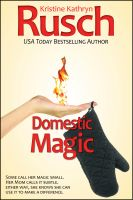 Cover for 'Domestic Magic'