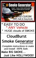 Cover for 'CloudBurst Smoke Generator: Make Huge Clouds of Smoke'