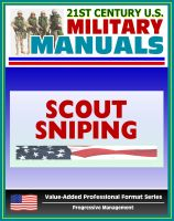 Cover for '21st Century U.S. Military Manuals: Scout Sniping Field Manual - FMFM 1-3B (Value-Added Professional Format Series)'
