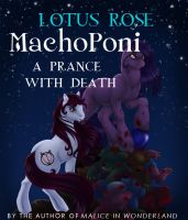 Cover for 'MachoPoni: A Prance with Death (Poniworld Chronicles #1)'