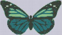 Cover for 'Butterfly 20 Cross Stitch Pattern'