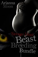 Cover for 'Savage Heat: A Beast Breeding Bundle (Three Pack Erotica Bundle)'