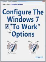 Cover for 'Configure The Windows 7 To Work Options'