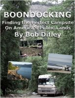 Cover for 'BOONDOCKING: Finding the Perfect Campsite on America's Public Lands'