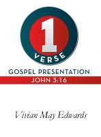 Cover for '1 Verse Gospel Presentation John 3:16'