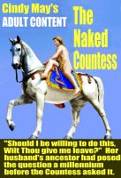 Cover for 'The Naked Countess'