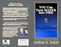 Cover for 'YOU Can Turn WATER into FIRE'