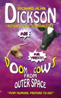 Cover for 'Doom Cows from Outer Space'