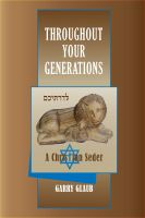 Cover for 'Throughout Your Generations, a Christian Seder'