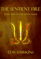 Cover for 'The Sentient Fire'