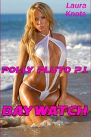 Cover for 'POLLY PLUTO P.I.: BAYWATCH'