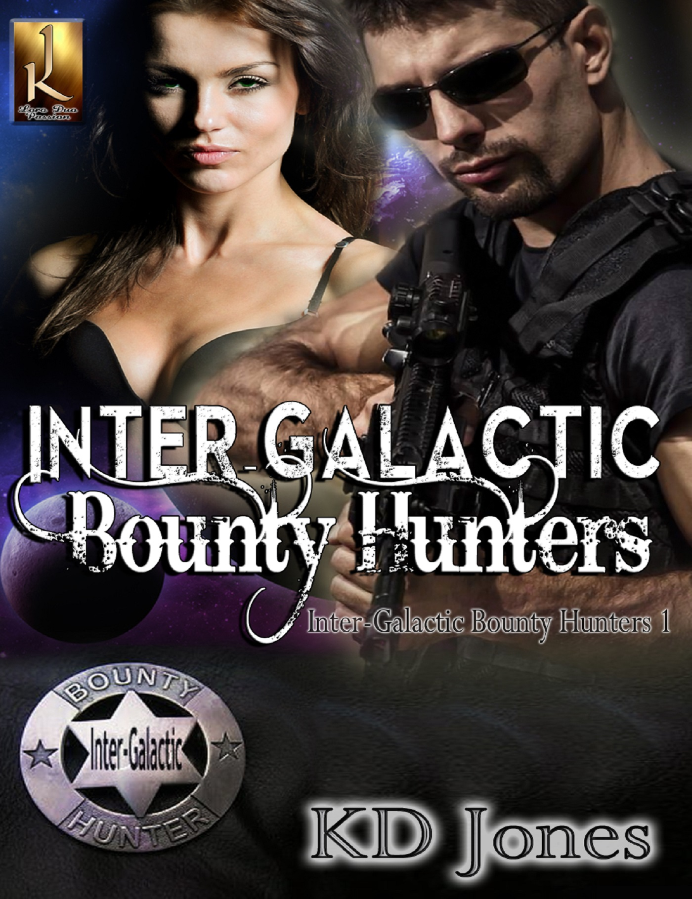 K.D. Jones - Inter-Galactic Bounty Hunters