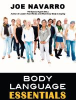 Cover for 'Body Language Essentials'