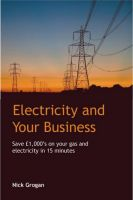 Cover for 'Electricity and your business'
