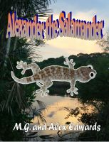 Cover for 'Alexander the Salamander'