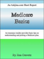 Cover for 'Medicare Basics: An askjina.com short report'