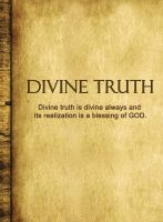 Cover for 'DIVINE TRUTH'
