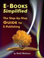 Cover for 'E-Books Simplified - The Step-by-Step Guide to E-Publishing'