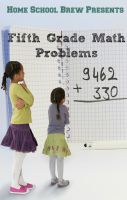 Cover for 'Fifth Grade Math Problems'