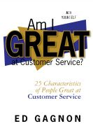 Cover for 'Am I Great at Customer Service?'