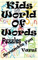 Cover for 'Kids World Of Words Puzzles'