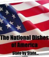 Cover for 'The National Dishes of America - State by State...'