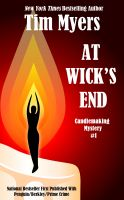Cover for 'At Wick's End (Book 1 in the Candlemaking Mysteries)'