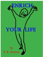 Cover for 'Enrich Your Life'