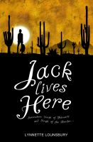 Cover for 'Jack Lives Here'