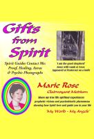 Cover for 'Gifts from Spirit - Spirit Guides Contact Me: Proof, Healing, Aura & Psychic Photographs'