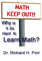 Cover for 'Why Is It So Hard To Learn Math?'