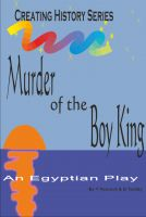 Cover for 'Murder of the Boy King'