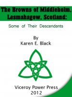 Cover for 'The Browns of Middleholm, Lesmahagow, Scotland'
