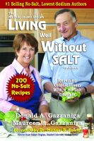 Cover for 'Living Well Without Salt'
