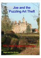 Cover for 'Joe and the Puzzling Art Theft'