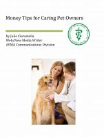 Cover for 'Money Tips for Caring Pet Owners'