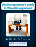 Cover for 'The Entrepreneur's Guide To Time Management'