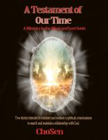 Cover for 'A Testament of Our Time'