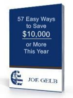 Cover for '57 Easy Ways to Save $10,000 Ebook'