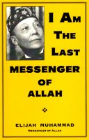 Cover for 'I Am The Last Messenger of Allah'