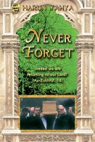 Cover for 'Never Forget'