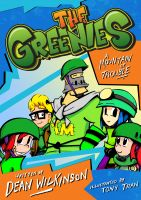 Cover for 'The Greenies Book 1: A Mountain Of Trouble!'